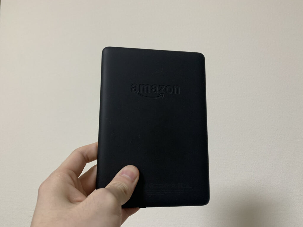 Kindle Paperwhiteのサイズ