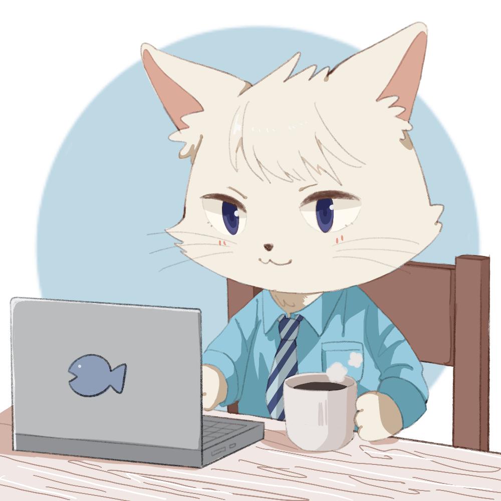 猫キャラのアイコン