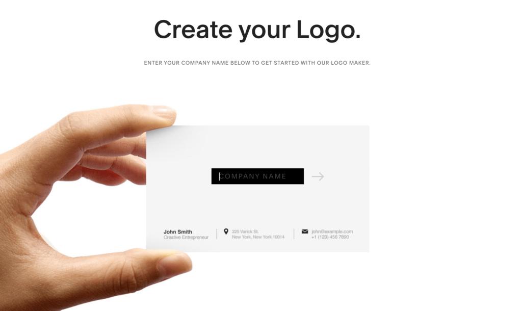SQUARESPACEでロゴを作る方法